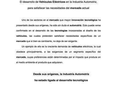 EL SECTOR AUTOMOTRIZ COMO IMPULSOR DE DESARROLLO TECNOLÓGICO