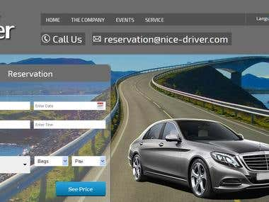 NICE DRIVER: TRAVEL BOOKING SYSTEM