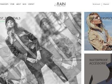 WEBSITE || Rain Couture – All-Weather Fashion Coats