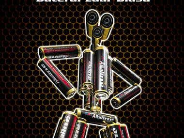 Poster Size A3 Alkaline Battery