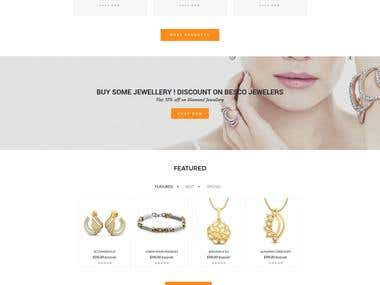 Jewellery Crafting Ecommerce site