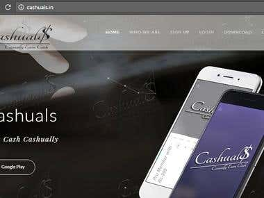 Cashuals || Android App