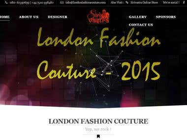 Fashion Website : LONDON FASHION COUTURE