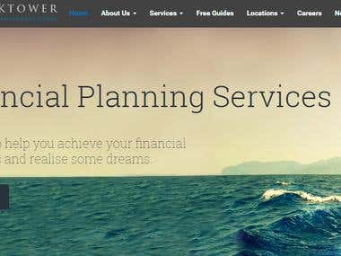WEBSITE DESIGN || Blacktower Financial Management Ltd