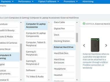 Choose Category For Flipkart bulk Listing
