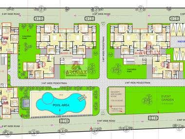 Site Master Planning, Villa, Condo or Residence Design