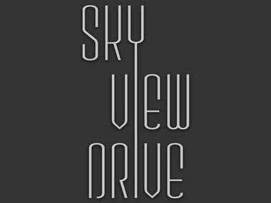 Logo Design: Skyview Drive, Annupuri, Niseko, Japan
