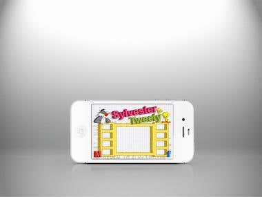 sylvester & tweety App Design
