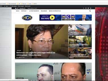 Pagina Web Noticiero HCH