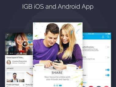 IGB iOS & Android App