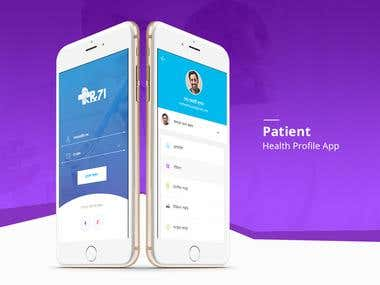 Patient Health Profile App