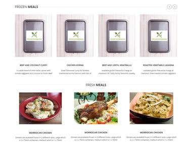 Dinner Website