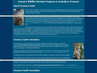 Oceans to Earth Foundation