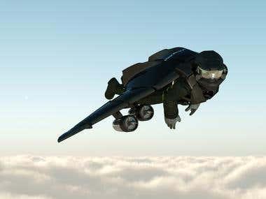 Jetman concept