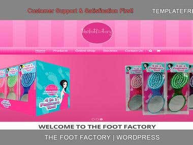 thefootfactory website