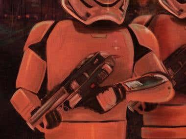Star Wars digital fan art crossover