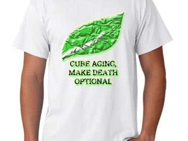 T-shirt: Cure Aging...