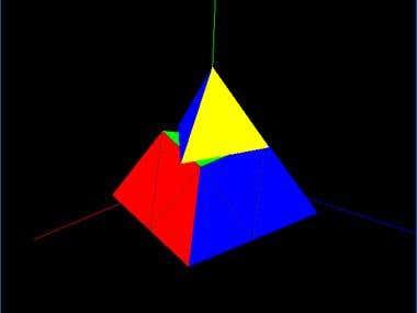 Pyraminx 3D