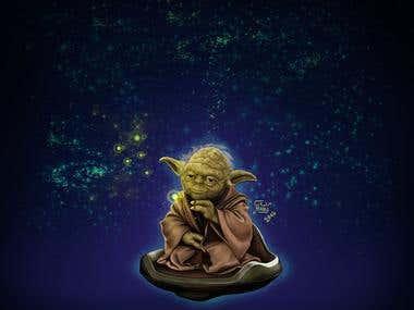Star Wars digital illustration fan art
