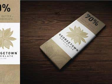 Georgetown Chocolate Logo and Packaging