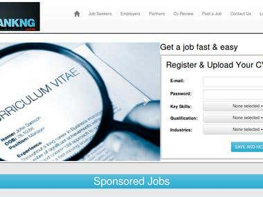 Recruitment Agency Website