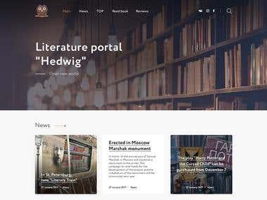 """Literature portal """"Hedwig"""""""