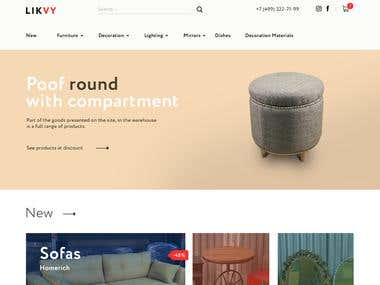 Likvy / E-commerce