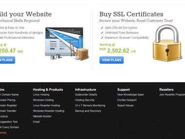 My Website Hosting Website Project