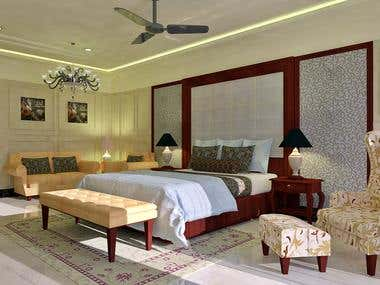 MASTER BEDROOM IN A BUNGALOW