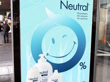 Artwork for Unilever and Neutral