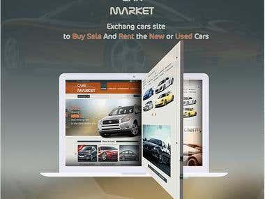 Cars Market website