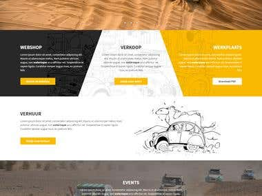 PSD to HTML with Pixel Perfect Design and Responsive