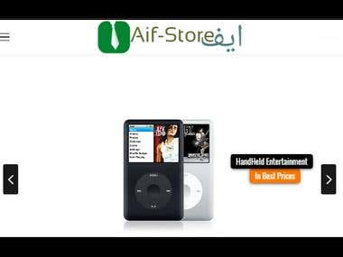 Aif Store - Online store