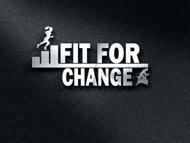 Logo Design for FIT FOR CHANGE