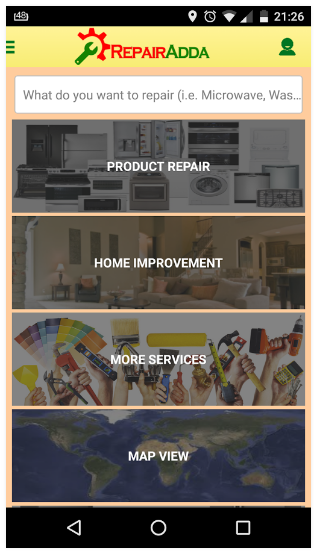 RepairAdda - Online Services