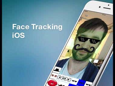 Face Tracking iOS Application