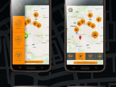 Gas stations, car washes, service stations app