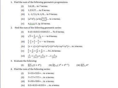 Type algebra/geometry in word