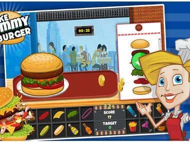 Yummy Burger Mania