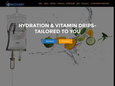 WordPress Website Development http://www.ivrecoveryvitamins.
