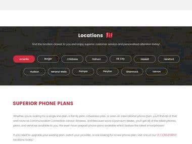 Verizone Mobile Dealer Website