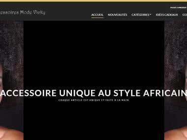 Site de vente d'accessoires de mode