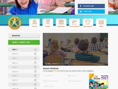 Website Design for School