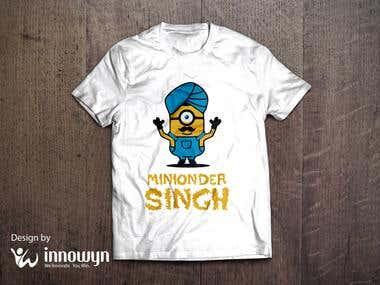 Custom t-shirt design