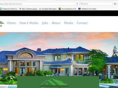 Real-estate job portal site