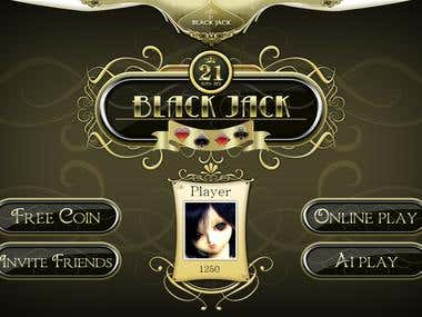 Mobile Game for Blackjack