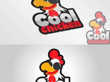 Cool Chicken Logo