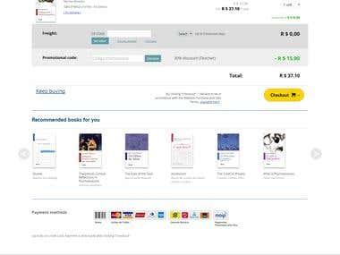 Bespoke online Book store