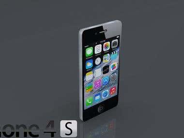 Iphone 4S 3d