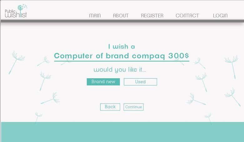 Dis Y Desarrollo Web Para Wishlist Com Sivemax Freelancer